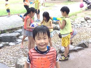 プログラム①②水遊び