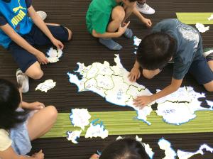 巨大日本地地図を作ろう
