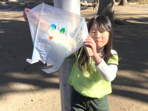 手作りおもちゃ~凧あげ~4