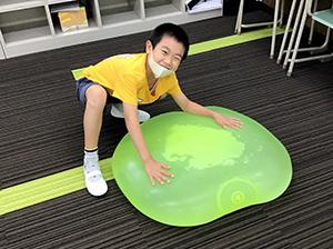 放課後クラブ戸田下前校 秋フェス2020 巨大水風船で楽しく遊ぼう!