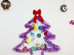 放課後クラブ北浦和校 大きなクリスマスツリー