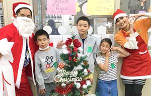 放課後クラブ戸田下前校 クリスマスイベント 集合写真